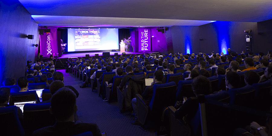 Auditorium, lors de la XebiCon'15 proposée par Xebia